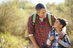 How to be an active dad