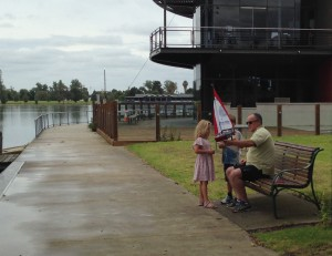 Remote Control boats at Albert Park Lake