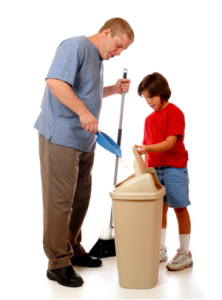 Kids and cleaning