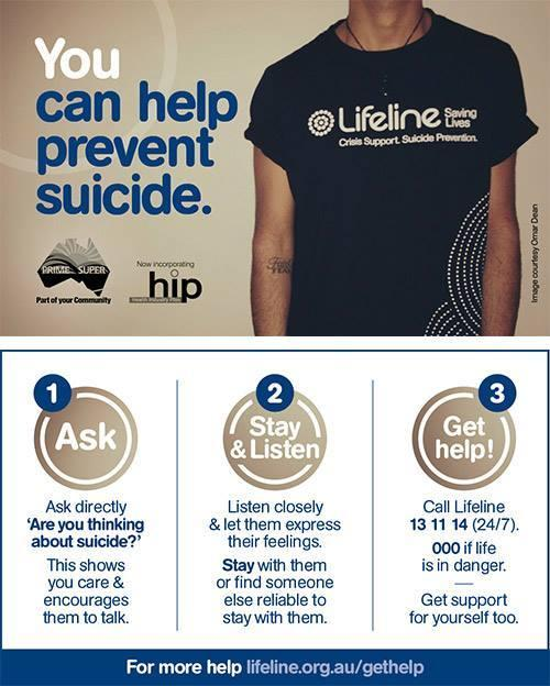 You can help prevent suicide_lifeline
