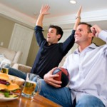 Watching The Footy: What to do when the boys come around