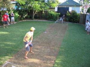 the ultimate backyard cricket venue